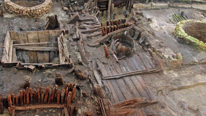 Ausgrabungen in Lübeck: Griff ins Klo