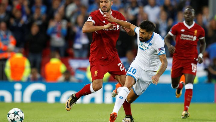 Liverpool gegen Hoffenheim: Eine Nummer zu groß