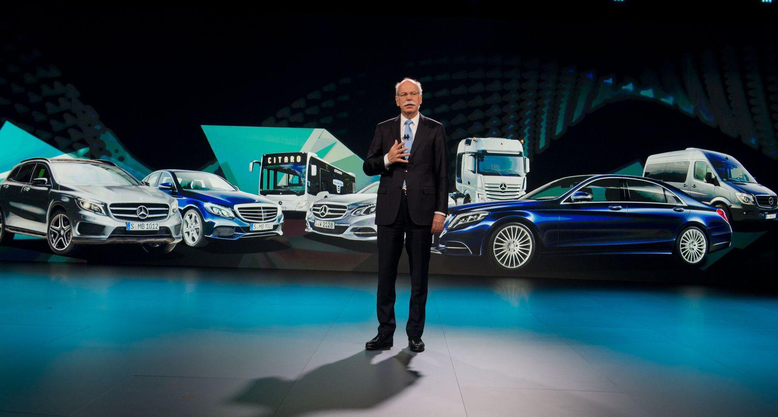 Vorstellung neue Mercedes V-Klasse