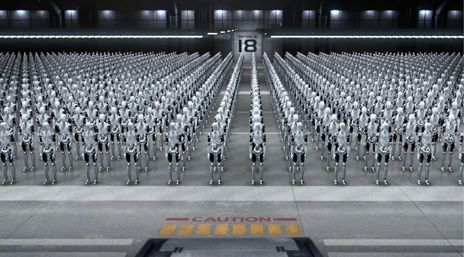 EINMALIGE VERWENDUNG I, Robot / Roboter