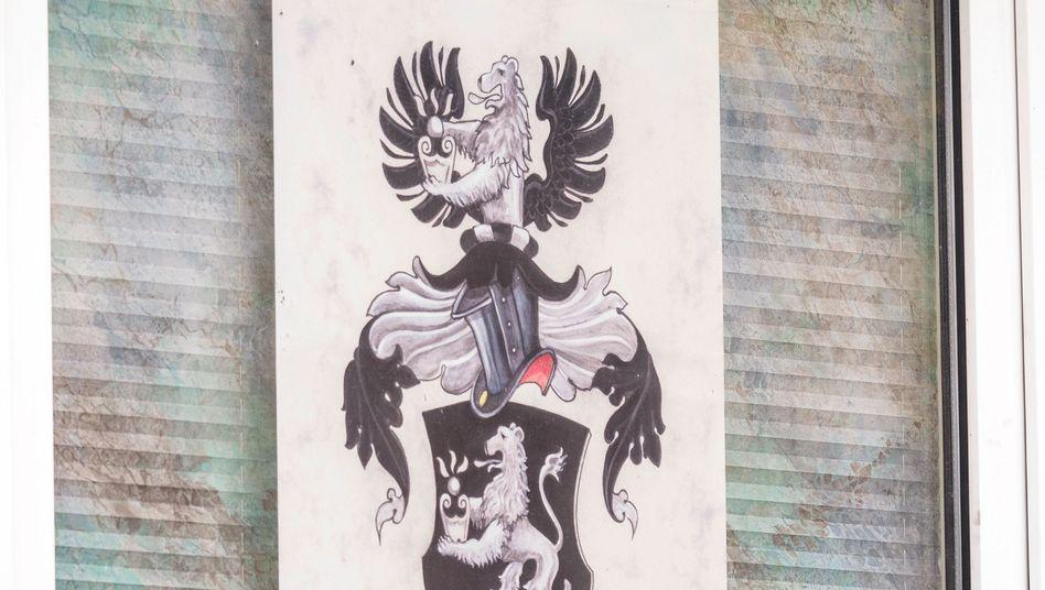 """""""Reichsbürger""""-Plakat in Georgensgmünd (Bayern)"""
