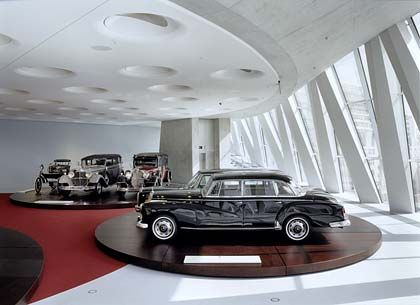 This model 300 Mercedes was the vehicle of choice of West Germany's first postwar chancellor, Konrad Adenauer.