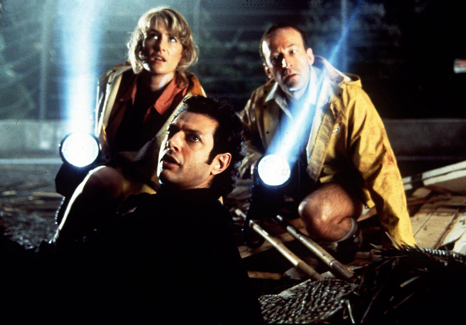 EINMALIGE VERWENDUNG Jeff Goldblum/ Jurassic Park