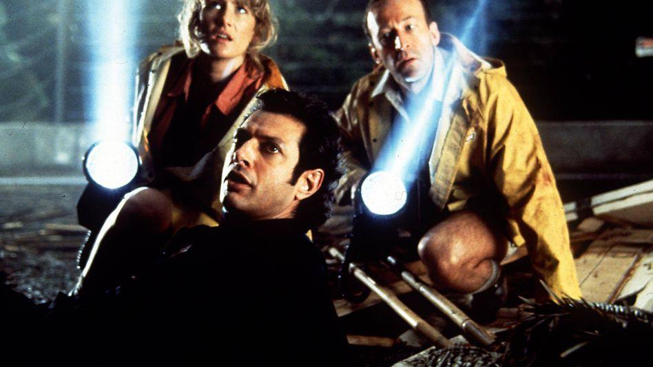 """Jurassic Park"" aus 1993 mit Jeff Goldblum (M.)"
