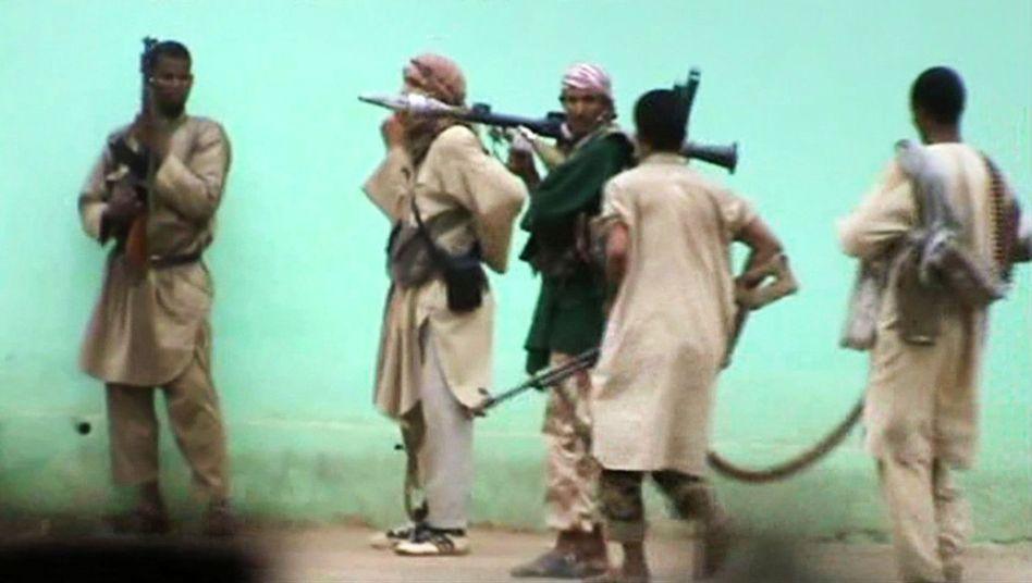Islamisten in Mali (Video-Standbild): Seit Monaten immer wieder Gewalt