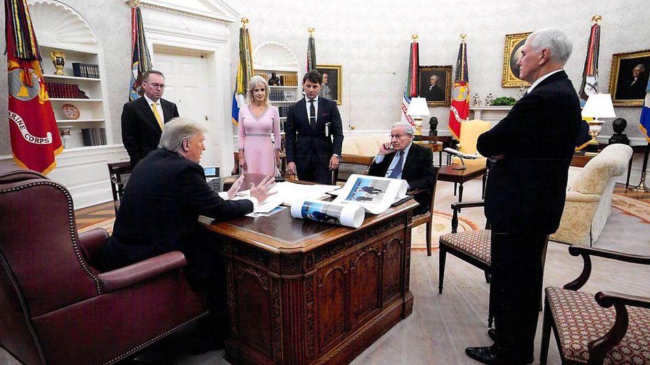 """Interviewpartner Trump, Woodward: """"Das ist ein tödliches Zeug"""""""