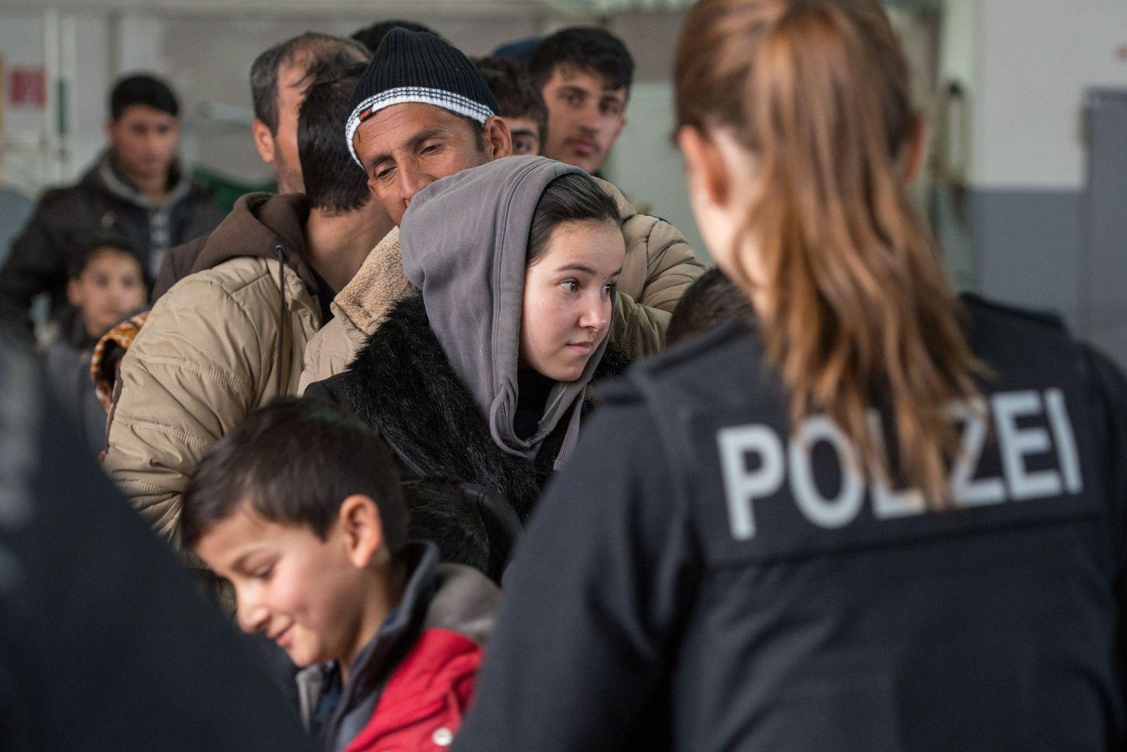 Flüchtlinge Passau Polizei Bundespolizei
