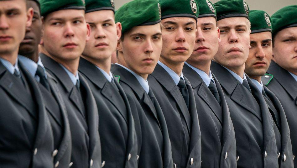Rekruten der Bundeswehr beim Gelöbnis in Berlin (im November 2019)