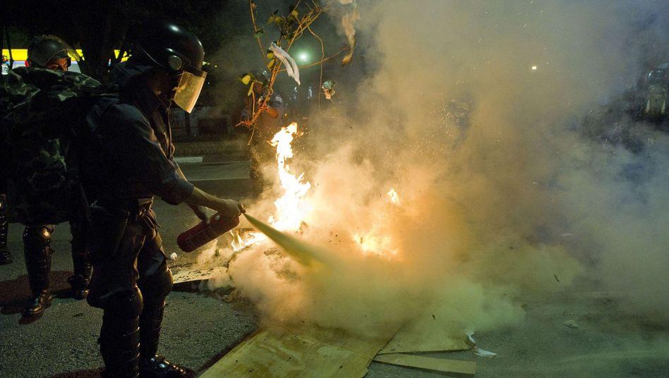 Krawalle in Brasilien: Straßenschlachten wegen sieben Cent