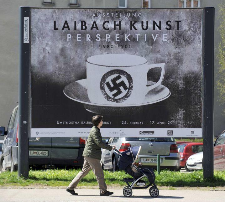 Poster für Laibach-Ausstellung in Ljubljana (2011)