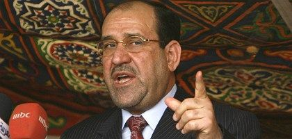 Iraqi Prime Minister Nouri al-Maliki says he agrees with US presidential candidate Barack Obama's plans for withdrawing US troops from Iraq.