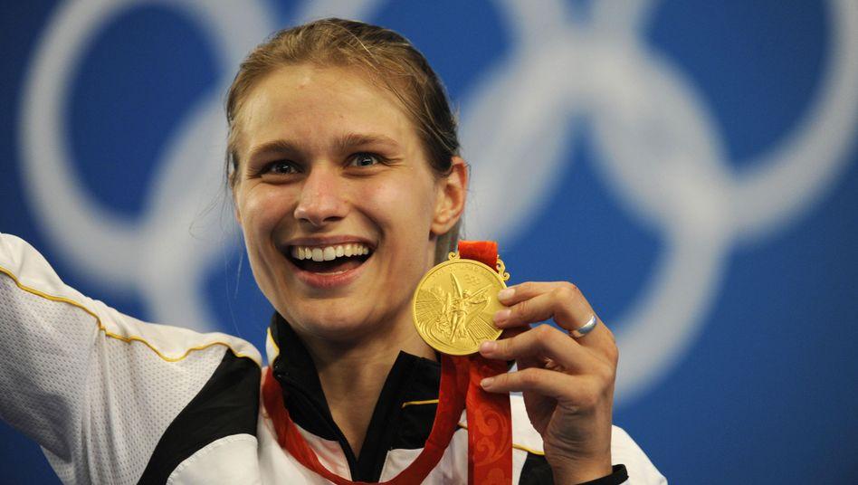 Fecht-Olympiasiegerin Heidemann: Auch 2012 in London dabei