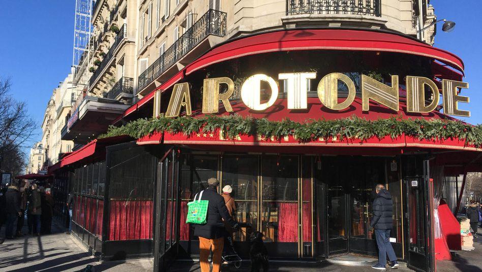 Einst ein beliebter Treffpunkt für Künstler: Traditionsrestaurant La Rotonde