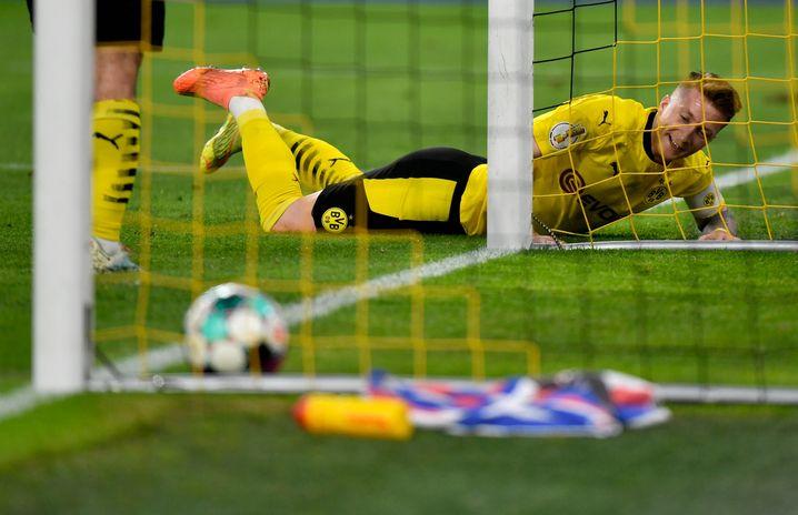 Marco Reus nach seinem Treffer zum 3:0 gegen Kiel