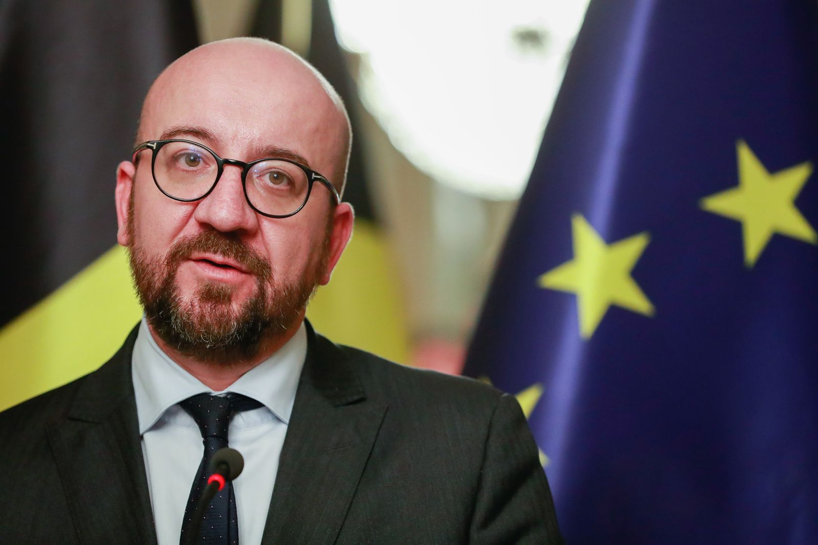 EINMALIGE VERWENDUNG Charles Michel/ Migrationspakt/ Belgien