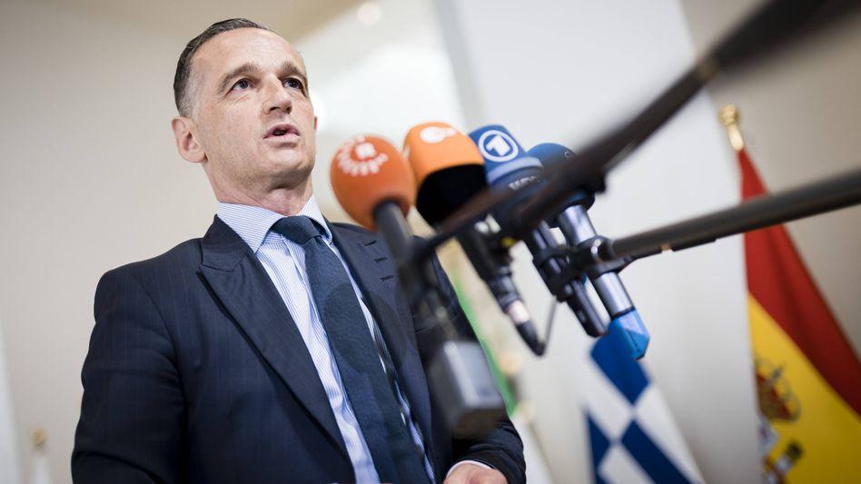 Bundesaußenminister Heiko Maas (SPD): »Anlass zur Hoffnung« nach »Spirale aus Chaos und Gewalt«