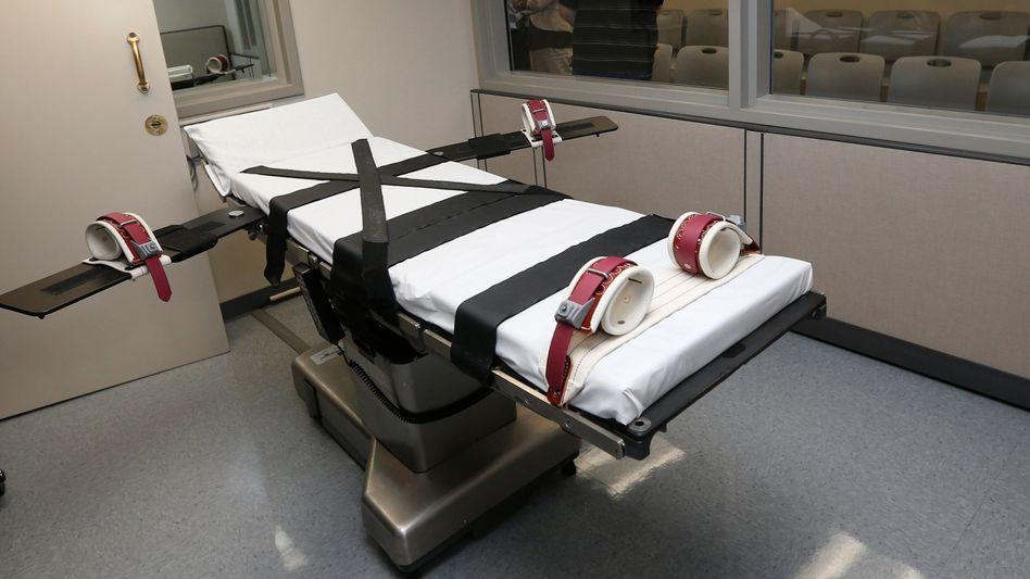 Hinrichtungskammer in Oklahoma