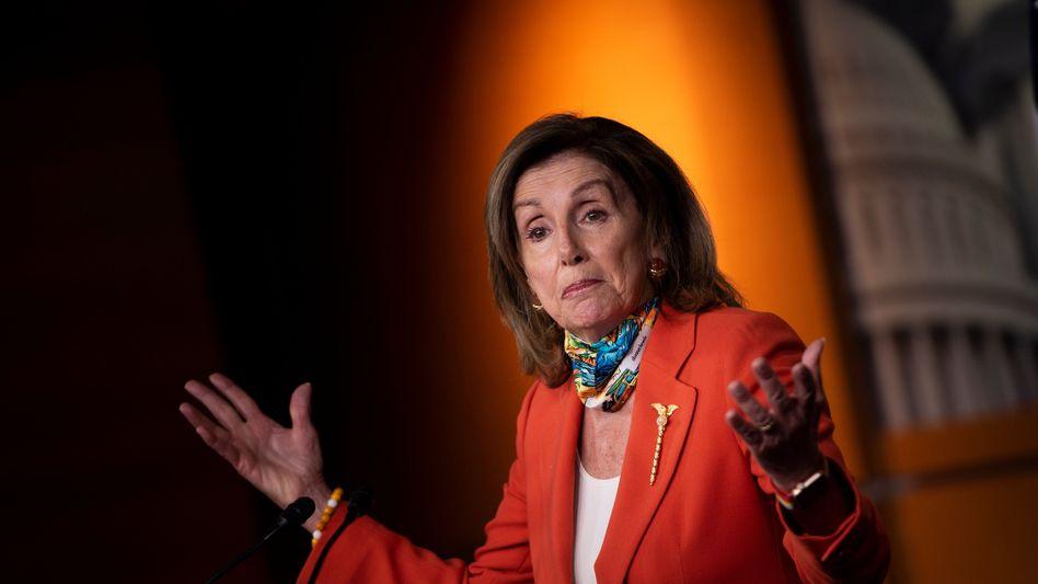 Demokratin Pelosi fordert Sanktionen gegen Russland