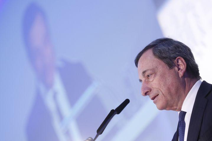 EZB-Präsident Mario Draghi: Auftritt des Euro-Retters