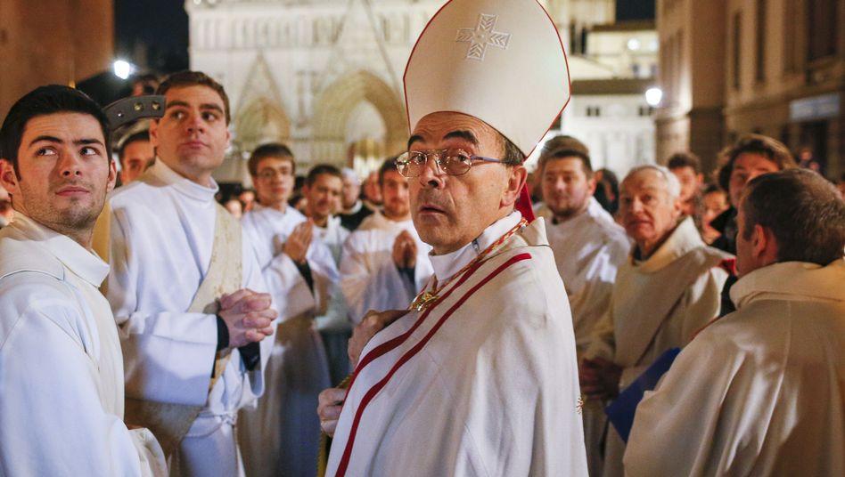 Philippe Barbarin, bisher höchster katholischer Würdenträger Frankreichs
