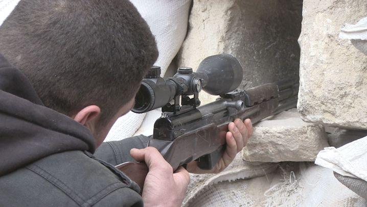 Krieg in Syrien: Frontstadt Aleppo