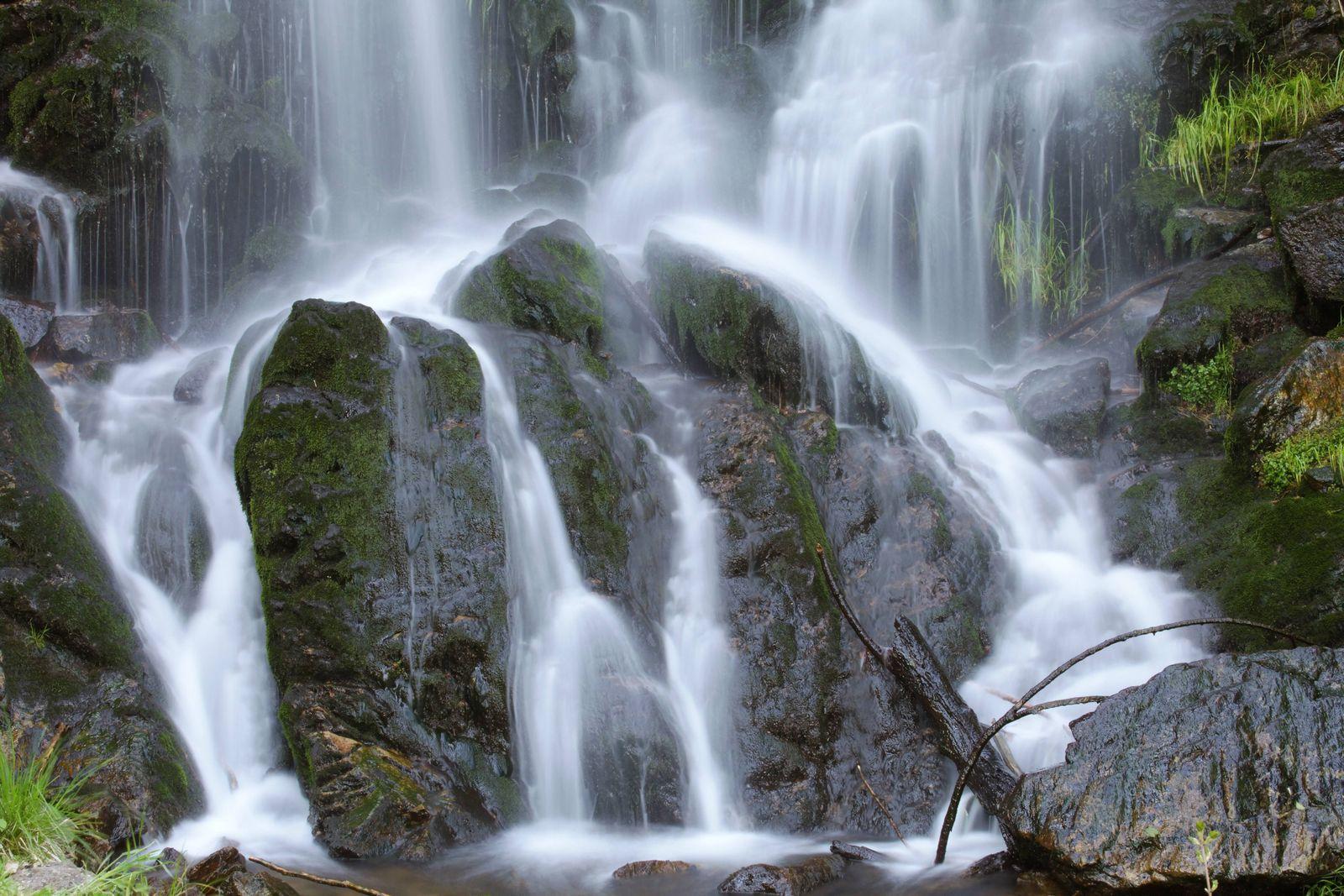 EINMALIGE VERWENDUNG Raus in den Herbst/ Fahler Wasserfall