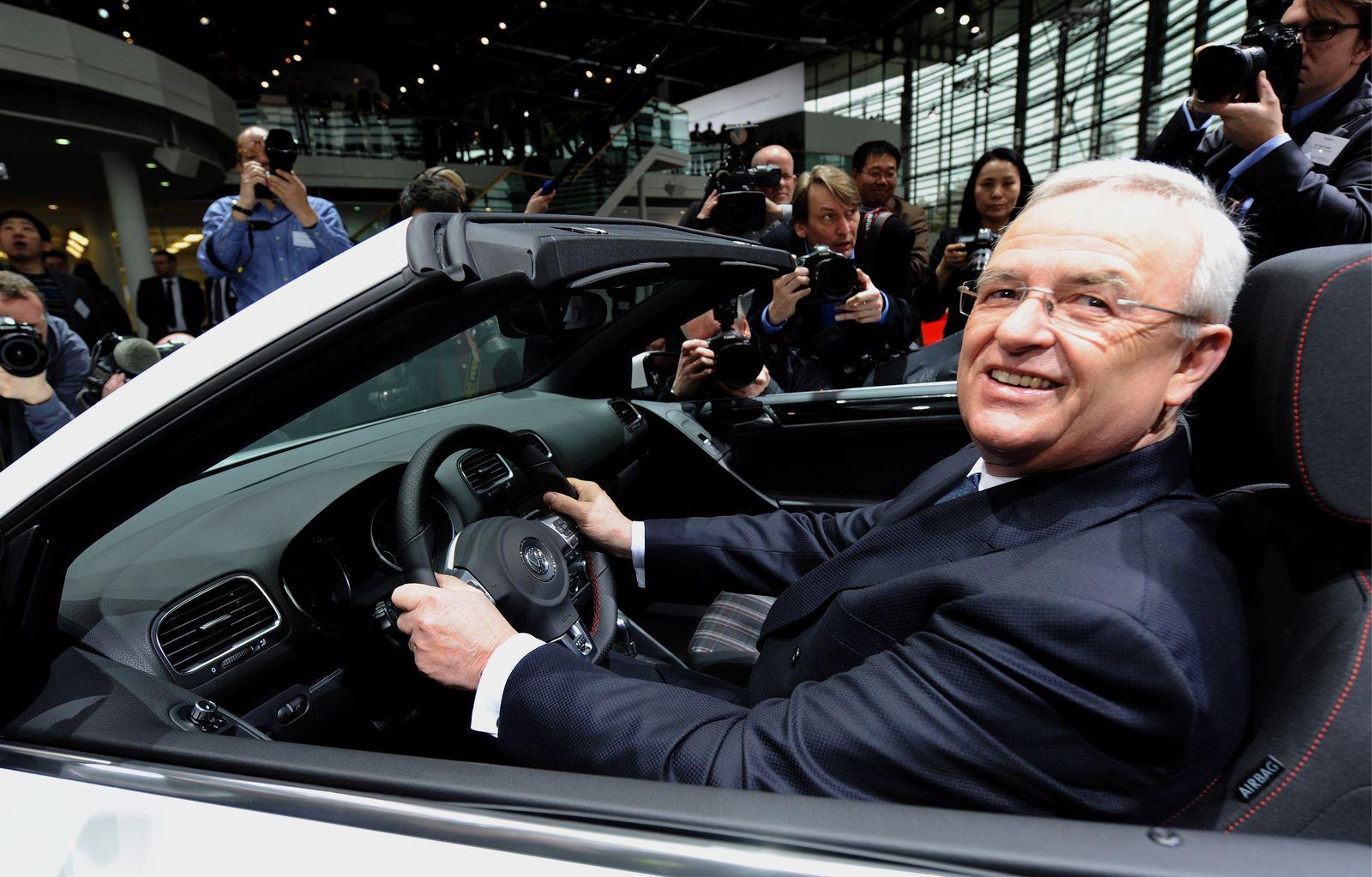 NICHT VERWENDEN Unternehmen/Automobile Winterkorn VW