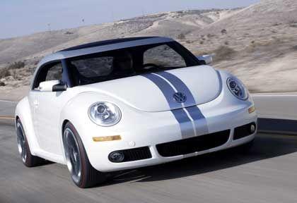 VW New Beetle Ragster: Bullig-böser Blick