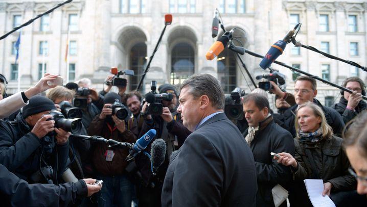Sondierungsgespräch: Union und SPD tasten sich ab