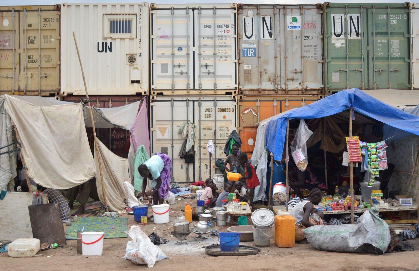 Flüchtlingscamp im Südsudan