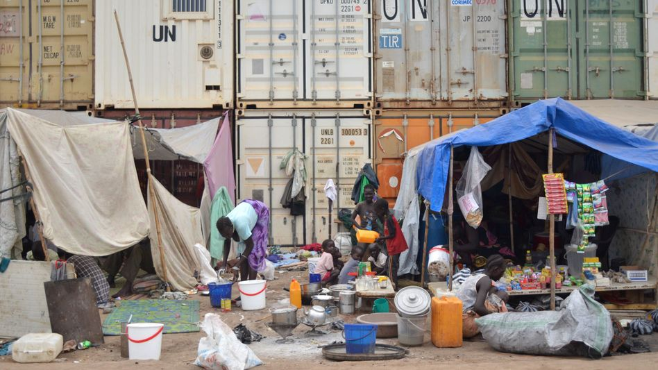 UN-Flüchtlingscamp im Südsudan (Archiv)