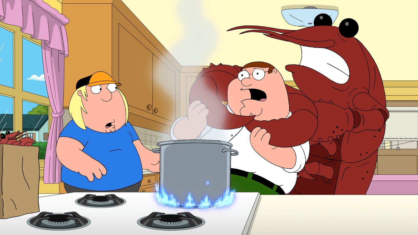 FAMILY GUY, from left: Chris Griffin (voice: Seth Green)...