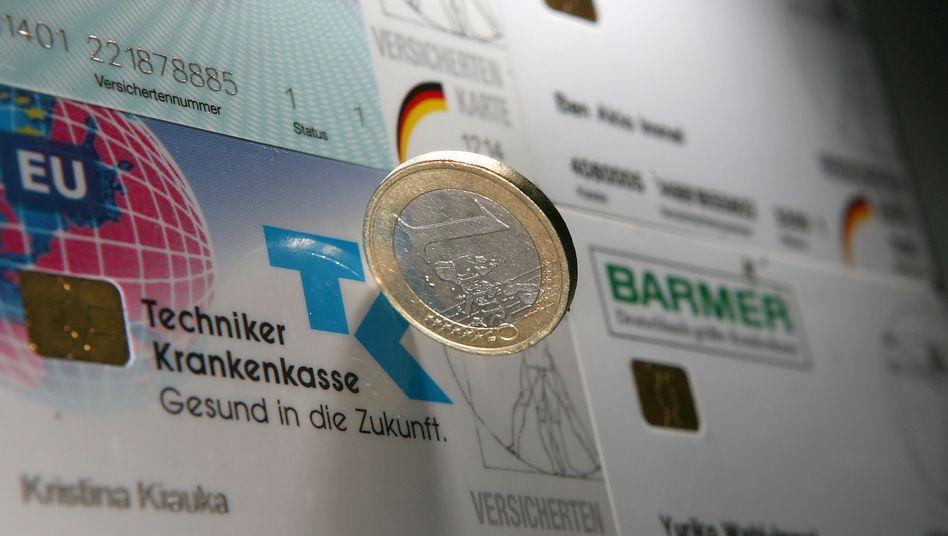 Gesetzliche Krankenkassen: Überschuss von 1,2 Milliarden Euro