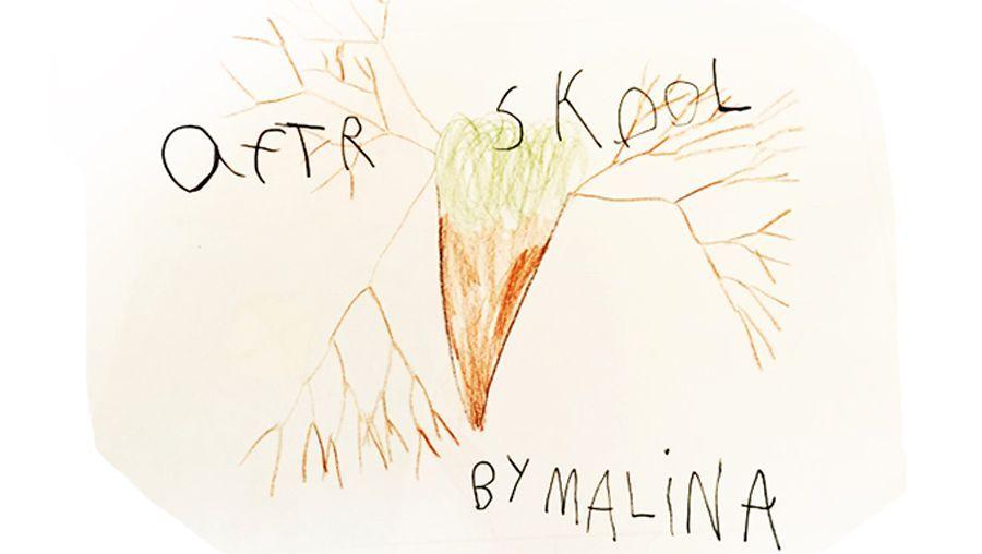 Zeichnung von Malina