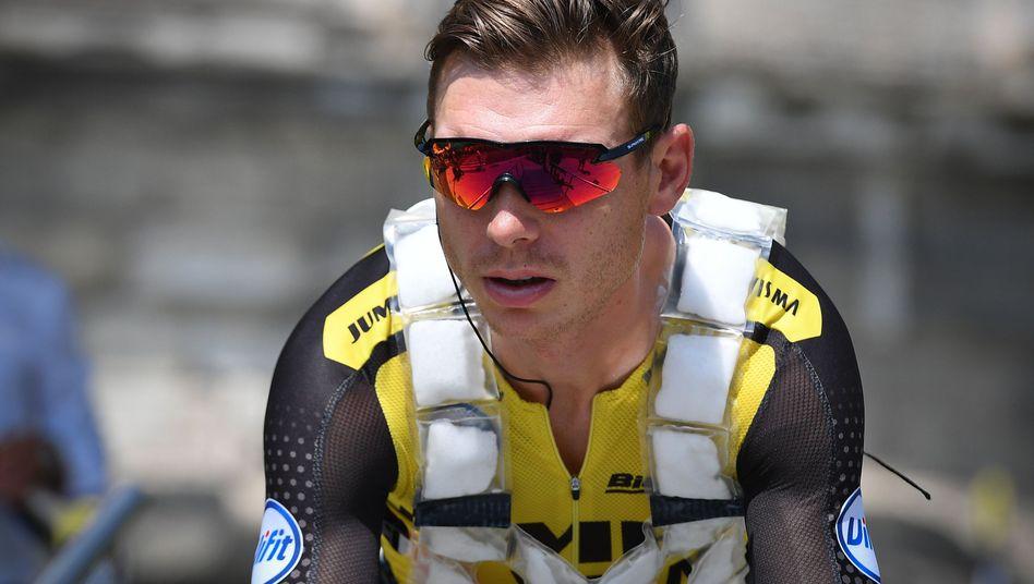 Nach Rangelei mit dem Briten Martin Rowe suspendiert: Tony Martin vom Team Jumbo-Visma