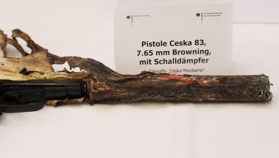 Bei NSU-Ermittlungen sichergestellte Ceska-Pistole: Kritik vom Untersuchungsausschuss