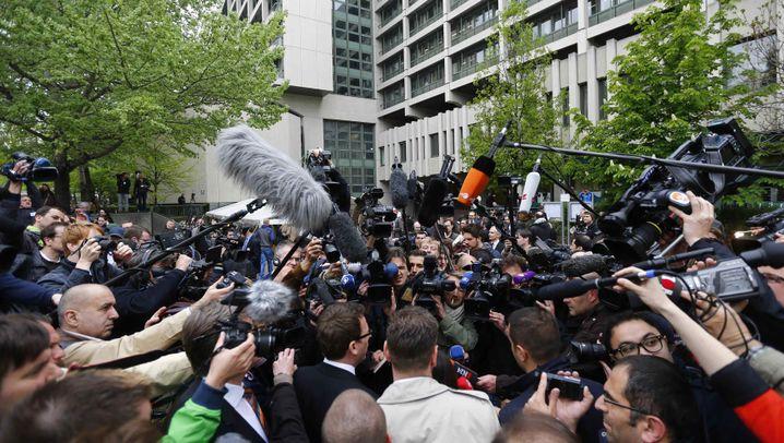 Die Angeklagte: Beate Zschäpe im NSU-Prozess