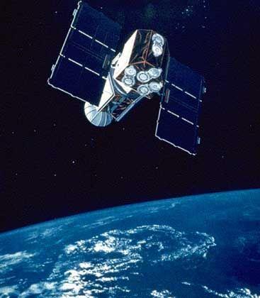 "Abgestürzt: Forschungssatellit ""Extreme Ultraviolet Explorer"""