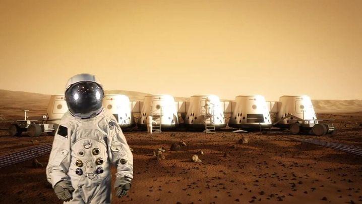 Roter Planet: Leben in der Strahlungshölle