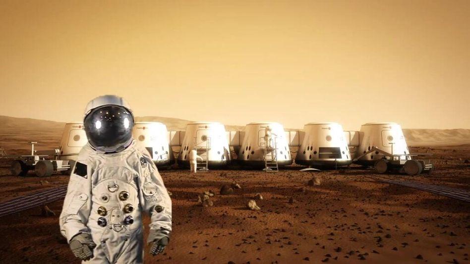 Vision aus Holland: So soll die Marskolonie aussehen