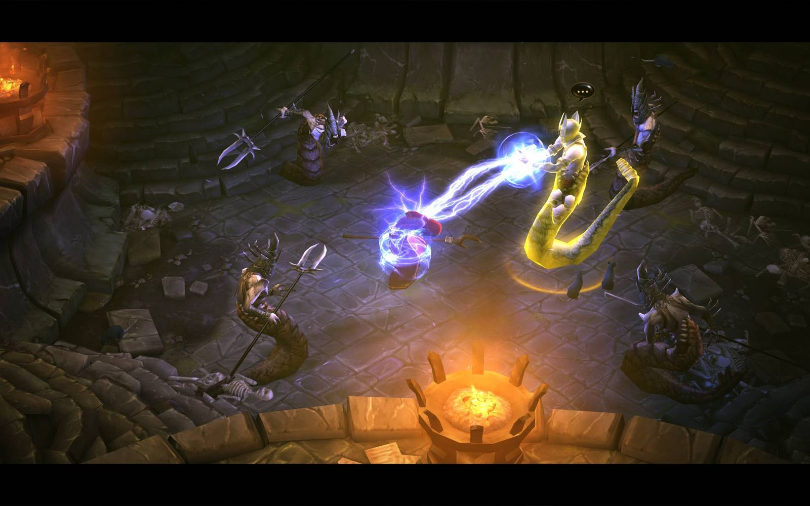 NUR ALS ZITAT Screenshot Diablo 3 / Cutscene