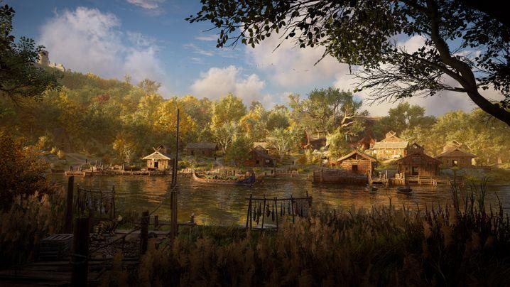 """Kleine Siedlungen, rundherum viel Wald - so sieht die Welt in """"Valhalla"""" aus"""