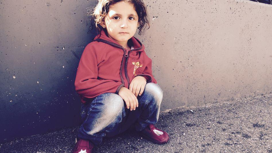 """Syrisches Flüchtlingskind Siwar, 3 Jahre: """"Ich bin müde"""""""