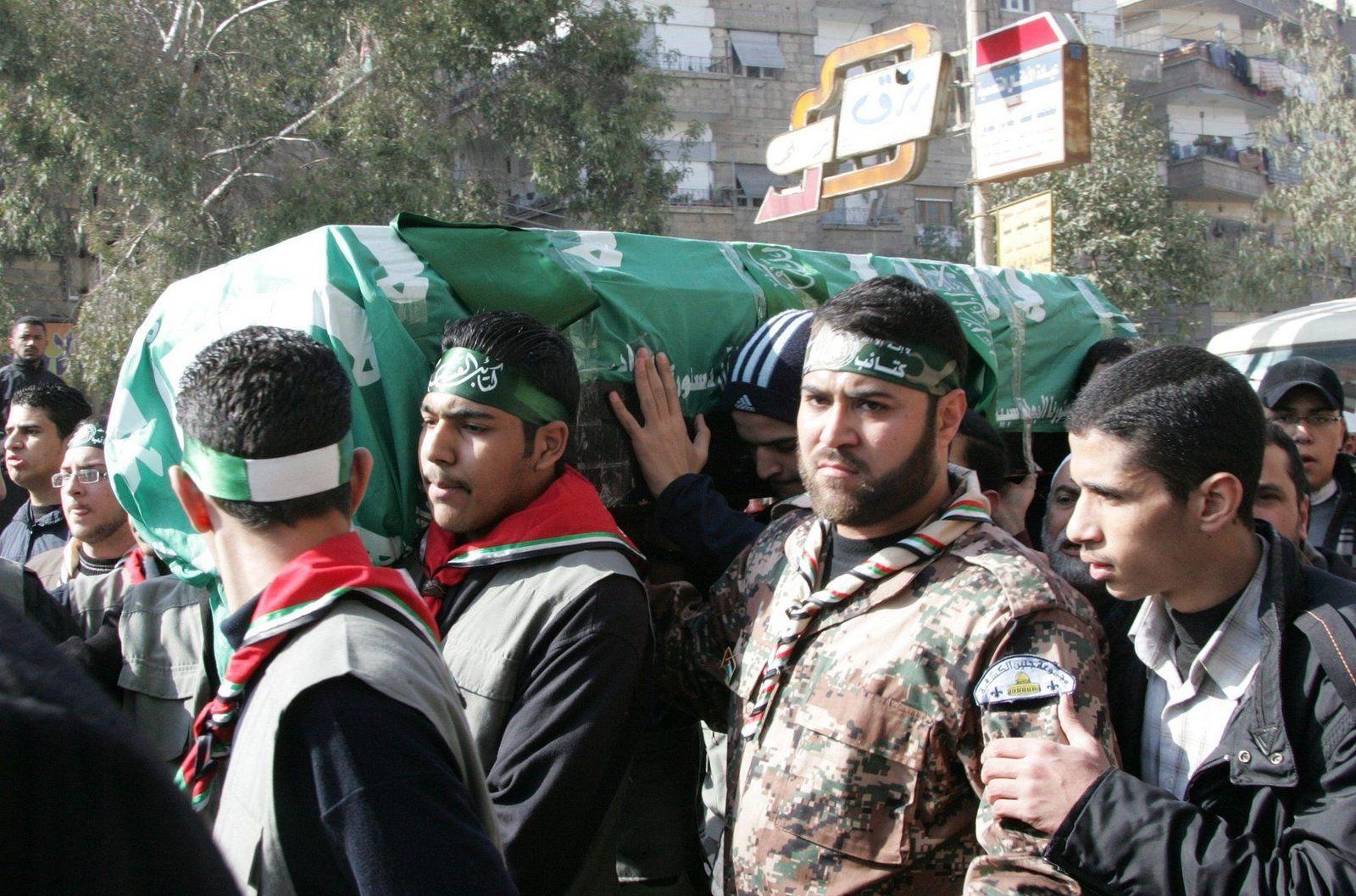 Mahmud Abdel Rauf al-Mabhuh, Beerdigung