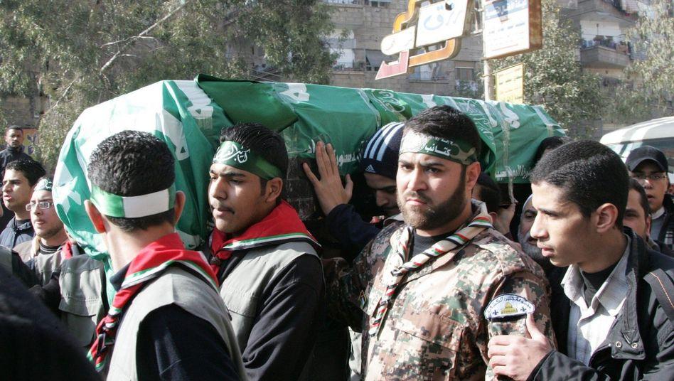 Beerdigung von Mahmud Abd al-Rauf al-Mabhuh: Wurde er von Israel getötet?