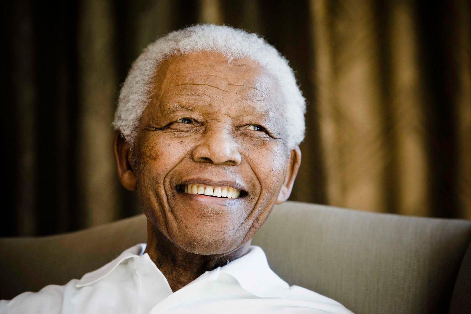 EINMALIGE VERWENDUNG Nelson Mandela