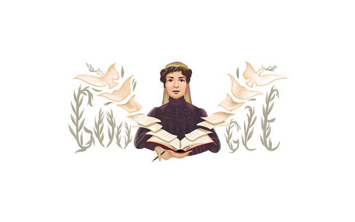 Google Doodle zu Ehren von Bertha von Suttner