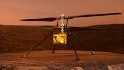 Und dann: der erste Hubschrauberflug auf einem anderen Planeten