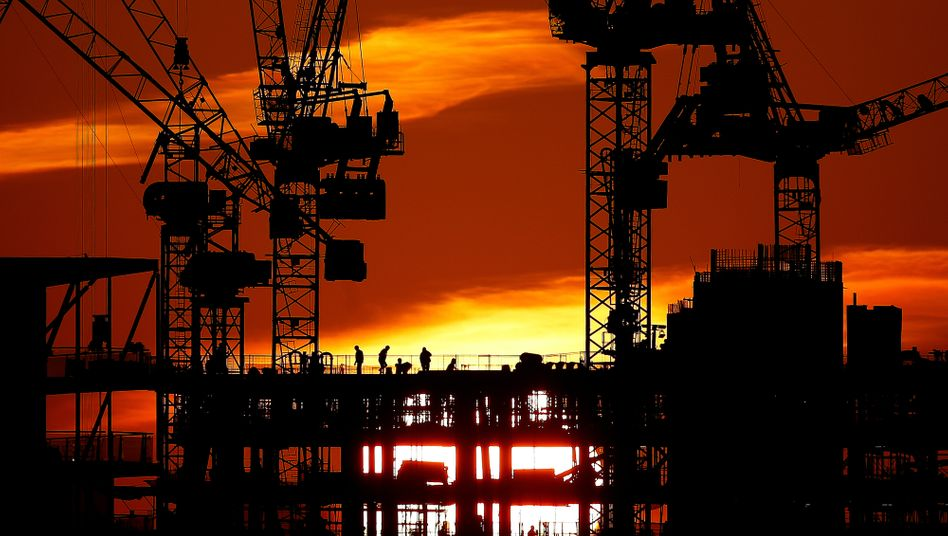 Die Stadt der Kräne: Großbauprojekt in London