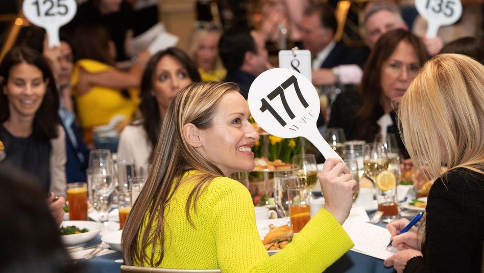 Gala-Veranstaltung in New York: 2018 spendeten US-Amerikaner 430 Milliarden Dollar